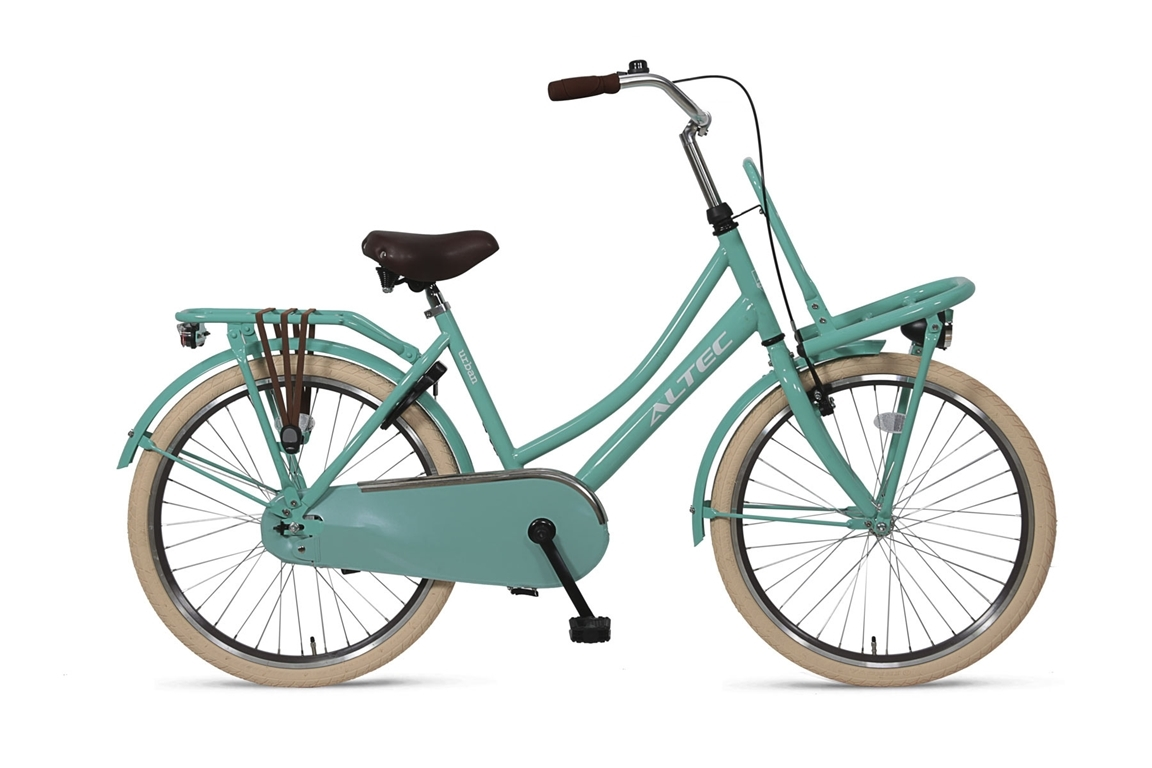 Altec Urban 24inch Transportfiets Ocean Green 2019